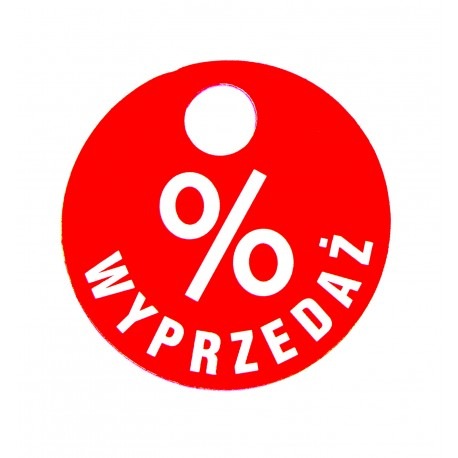 WYPRZEDAŻ %